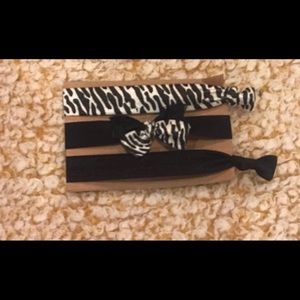 Set of 3!! No crease, Ouch-Less, Elastic Hair Ties